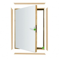 DWK L-shaped combination door
