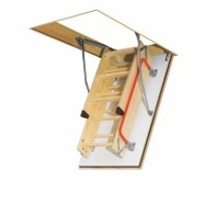 Wooden loft ladder LWF - fire-resistant