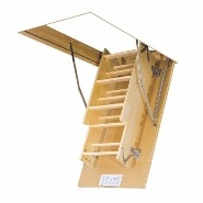 Wooden loft ladders LWS Smart